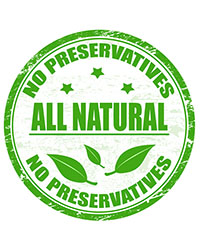No Preservatives - All Natural
